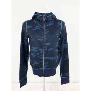 💜Lululemon Namaskar Blue Camouflaged Jacket